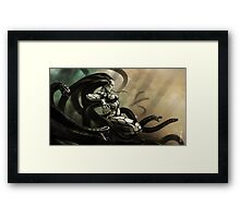 Medusa Rising Framed Print