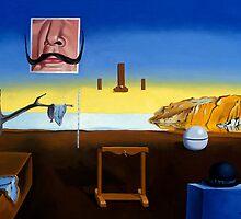 Dali's Mustache - Magritte's Bowler by mikebridges