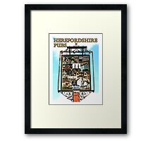 Herefordshire Pubs Framed Print