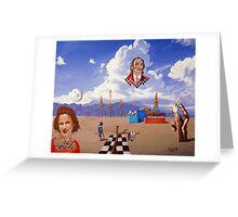 An Ode To Salvador Dali Greeting Card