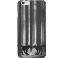 foxes in the forest iPhone Case/Skin