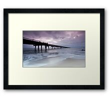 Out To Sea - Lucinda Jetty Framed Print