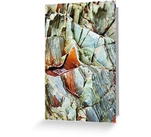 Rock layers Greeting Card