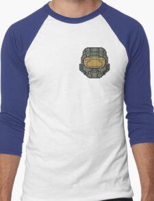 Halo - Pixl Chief  Men's Baseball ¾ T-Shirt