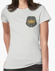 Halo - Pixl Chief  Womens Fitted T-Shirt