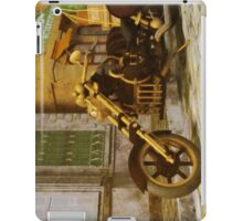 Steampunk Motorcycle iPad Case/Skin