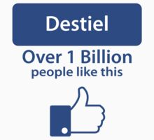 Over a Billion Like Destiel Shirt by HarmonyByDesign