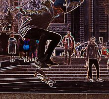 Skate to da millenium by DRPaint