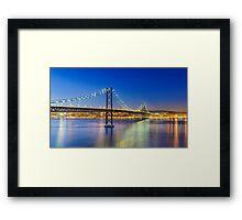 Nightly Lisbon Framed Print