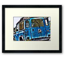 Old Land Rover Framed Print