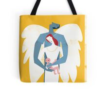 The Angel's Family Tote Bag