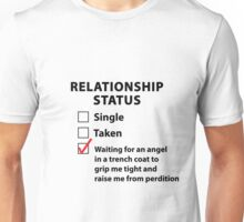 Relationship Status Castiel Shirt Unisex T-Shirt