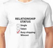 Relationship Status Wincest Shirt Unisex T-Shirt