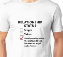 Relationship Status Destiel Shirt #2 Unisex T-Shirt