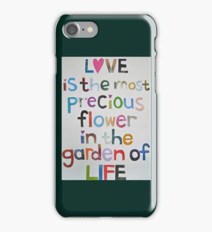Love Garden iPhone Case/Skin