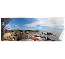 Bay of Fires grants point Tasmania Poster
