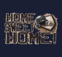 Home Sweet Home Baseball One Piece - Short Sleeve