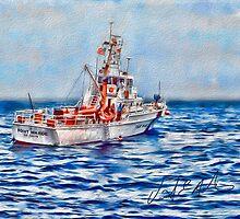 USCGC Pt. Warde by vanceadkins