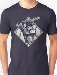 Classic Diamond Baseball Rocks Slugger Unisex T-Shirt