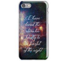 Love the stars iPhone Case/Skin