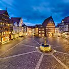 Historic old city of Hildesheim, Germany by Mapics