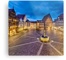 Historic old city of Hildesheim, Germany Metal Print