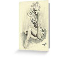 Marnie Van Doren Greeting Card