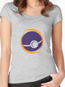 pokemon balls Women's Fitted Scoop T-Shirt