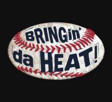 Bringing da Heat Baseball One Piece - Short Sleeve