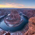 Horseshoe Bend Sunset by Will Hore-Lacy