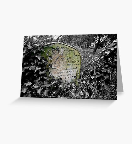 March Of Time Greeting Card