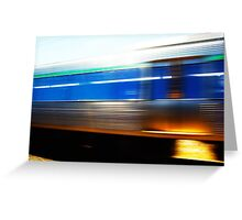 Train 07 03 13 Greeting Card