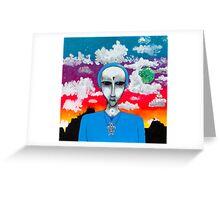 ET Commander Greeting Card