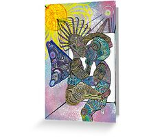 Marriage of Self Greeting Card
