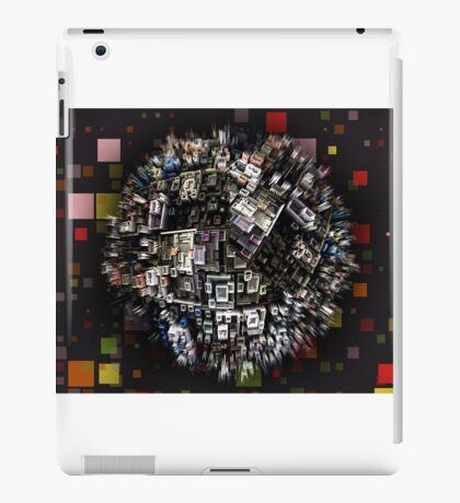 exploding city iPad Case/Skin