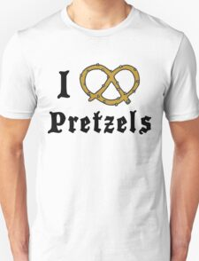 I Love Pretzels T-Shirt
