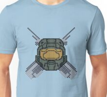 Halo - Pixl chief (centre) Unisex T-Shirt