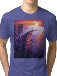 Path of Life Tri-blend T-Shirt