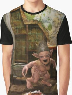 The Toilet Monster Graphic T-Shirt