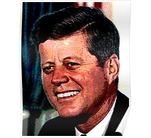 All The President's Heads #2 - JFK Poster