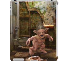 The Toilet Monster iPad Case/Skin