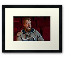 Scary movie Framed Print