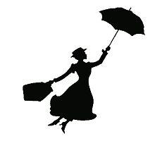 Black Miss Poppins  by Sammygirls