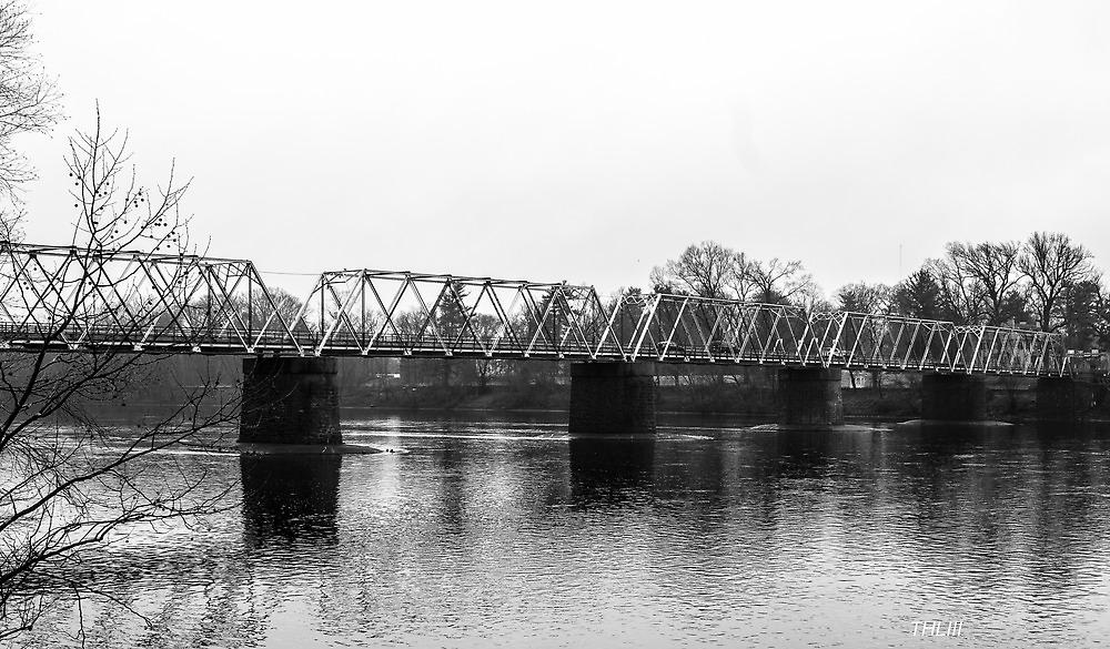 Washington Crossing Bridge by Thliii