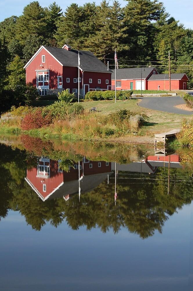 River Bend Farm  by John  Kapusta
