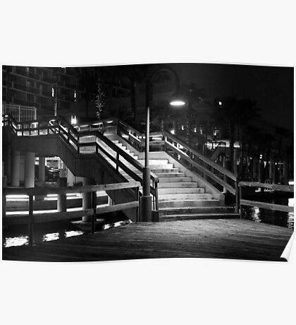 Night Stairs Poster