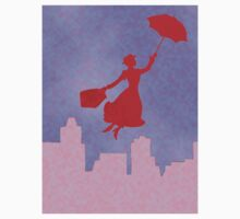 Girlie Miss Poppins  Kids Tee