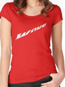 Wave Tee's Women's Fitted Scoop T-Shirt