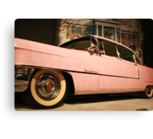 Elvis' Cadillac  Canvas Print