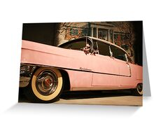 Elvis' Cadillac  Greeting Card